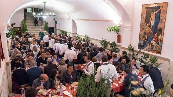 Una Cena Galeotta nel carcere di Volterra