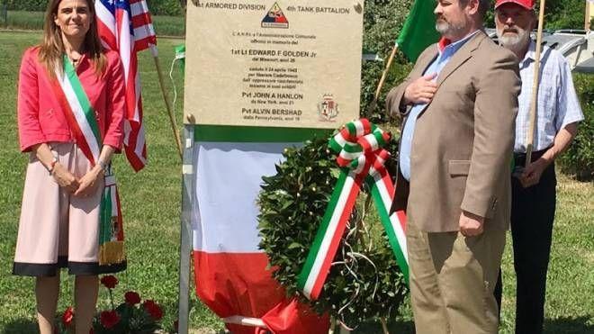 Un parco di Cadelbosco intitolato a un soldano americano