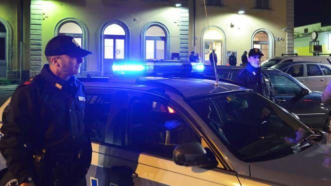 Agenti in stazione a Treviglio