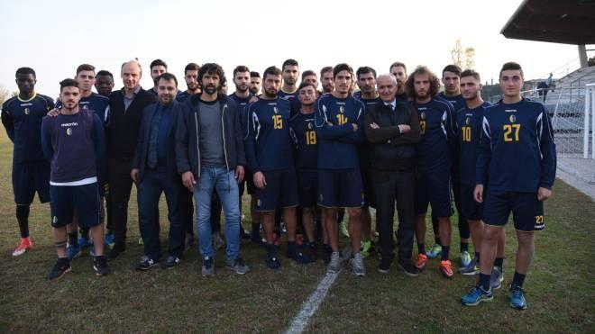 Uno degli ultimi allenamenti del Modena Calcio a San Damaso