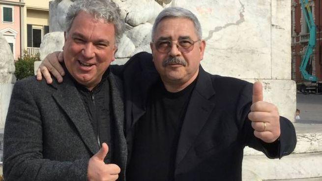 Alberto Sacchetti con Monforte
