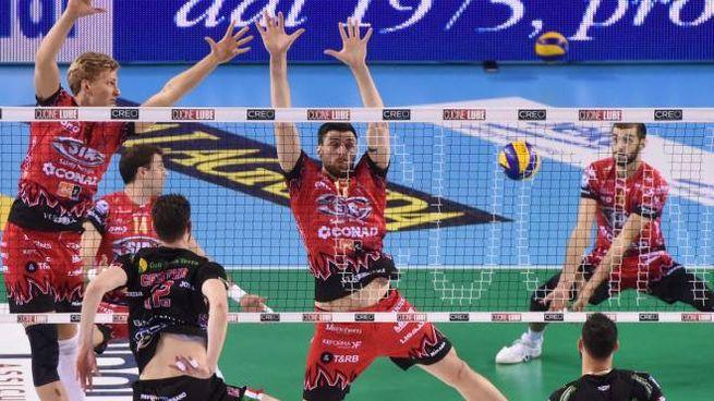 Volley, finale scudetto. La sfida tra la Lube e Perugia (DeMarco)