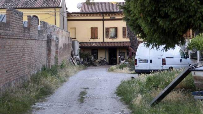 La casa dove è stata trovata la bimba nel freezer (Businesspress)