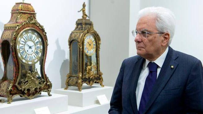 Il presidente della Repubblica Sergio Mattarella (LaPresse)