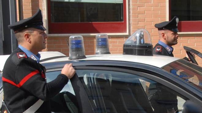 Il rapinatore arrestato dai carabinieri di Calcinaia