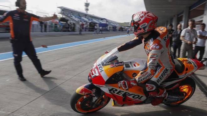 MotoGp, Marc Marquez a Jerez (Ansa)