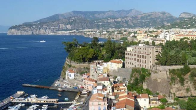 Bandiere blu 2018, Sorrento: una new entry