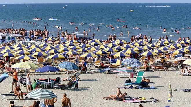 La spiaggia di Cervia (foto Zani)