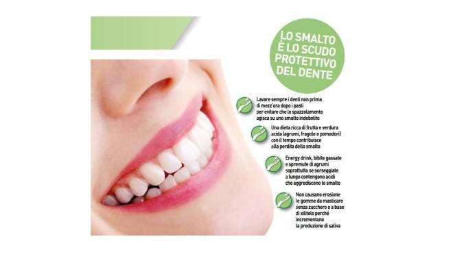 Lo smalto, scudo protettivo del dente