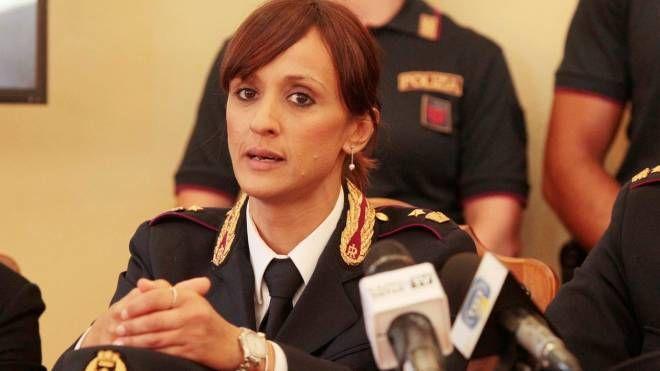 La dirigente della squadra mobile di Lucca, Silvia Cascino