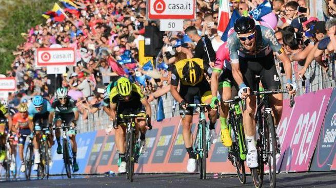 Un arrivo del Giro