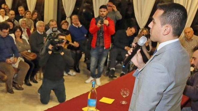 L'ultima visita di Di Maio a Imola all'hotel Molino Rosso