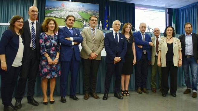 I partecipanti alla tavola rotonda al Centergross