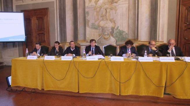 Il convegno a Palazzo Incontri (foto Umberto Visintini/New Pressphoto)