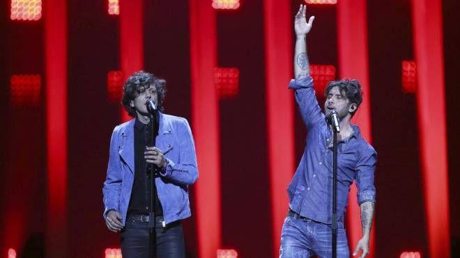Ermal Meta e Fabrizio Moro (Ansa)