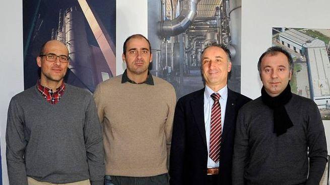 Michele Matteoli con il comitato di presidenza