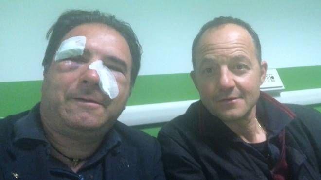 I due dipendenti di Atm  feriti nella notte  in zona Cadorna
