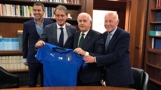 Roberto Mancini nuovo cr della nazionale italiana (Ansa)