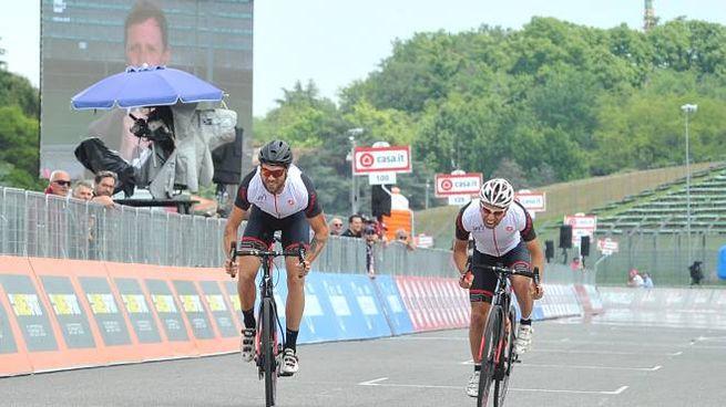 La tappa di ieri del Giro d'Italia 2018