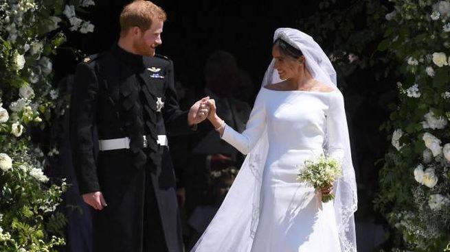 Il principe Harry e Meghan Markle (Ansa)