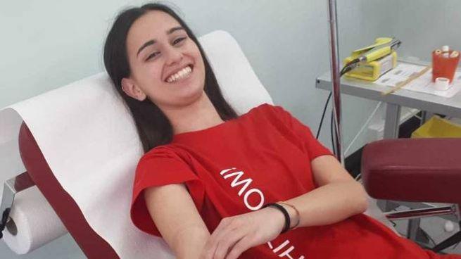 SORRISO Alessandra Cervigni ieri ha compiuto 18 anni
