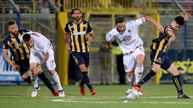 Cesarini ha avuto l'occasione per siglare  il gol del vantaggio con un pallonetto che ha sfiorato la porta vuota