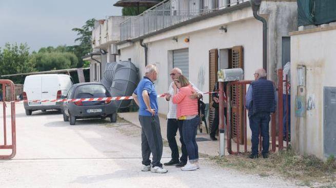 Omicidio di Silvana Marchionni, le reazioni di parenti e vicini (foto Zeppilli)