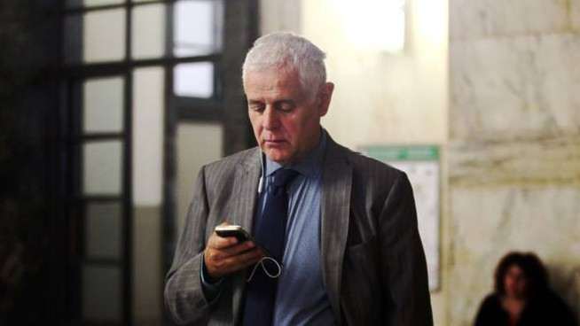 Roberto Formigoni in tribunale (Lapresse)