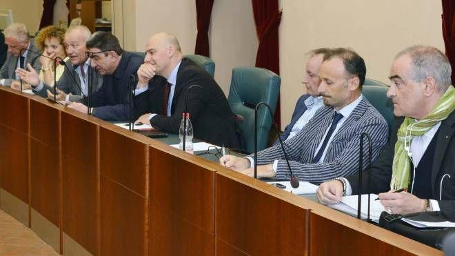 Il Consiglio provinciale riunito a Palazzo san Cristoforo