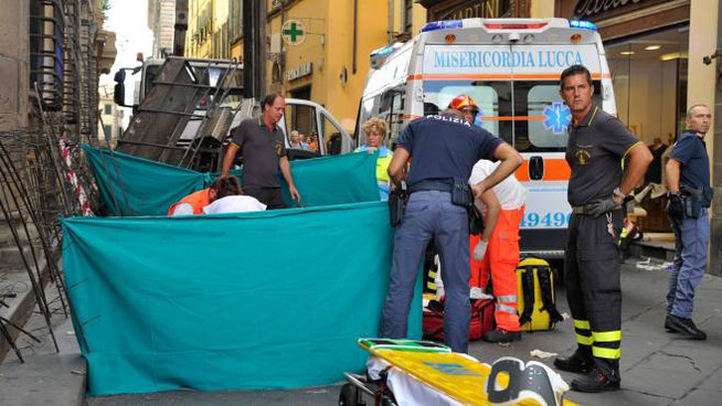 L'incidente mortale alla Luminara