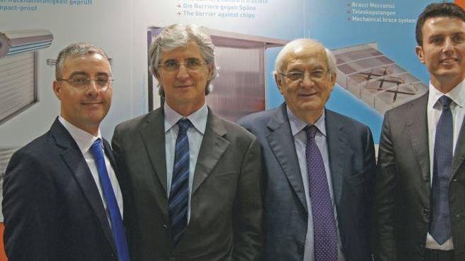 I Soci PEI: da sin Michele Benedetti,Vittorio Mardegan,Giorgio Tabellini,Andrea Zambelli