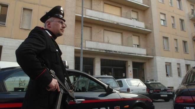 La donna è stata arrestata dai carabinieri