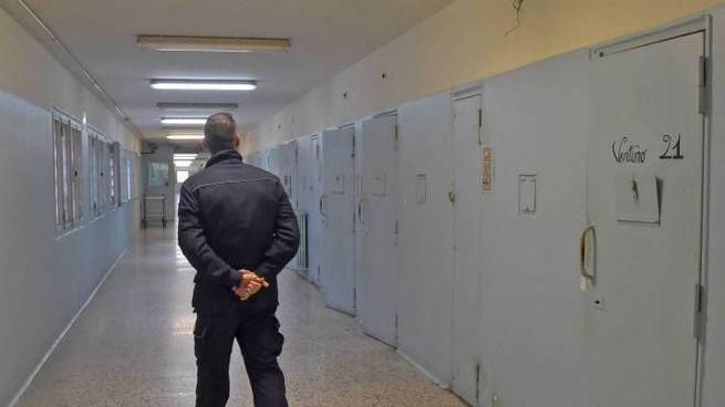 L'interno del carcere Torre del Gallo