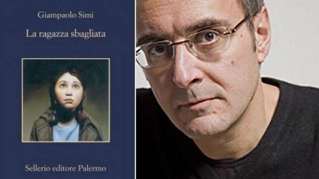 Giampaolo Simi e la copertina del suo libro