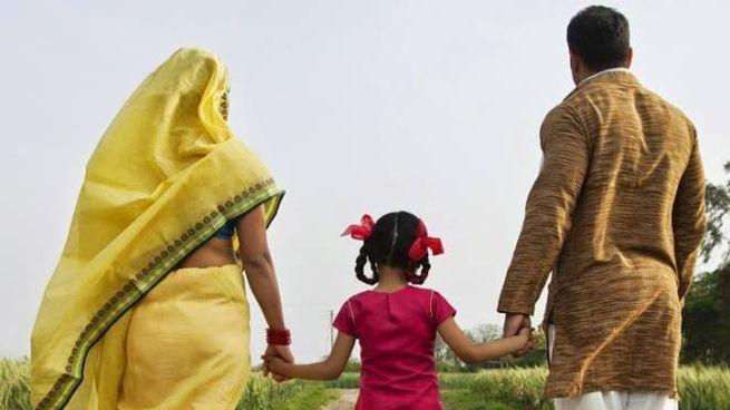 Una famiglia del Bangladesh