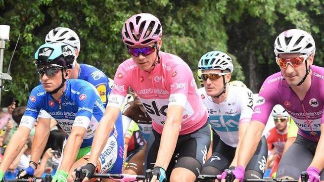 Froome vince il Giro d'Italia (Ansa)