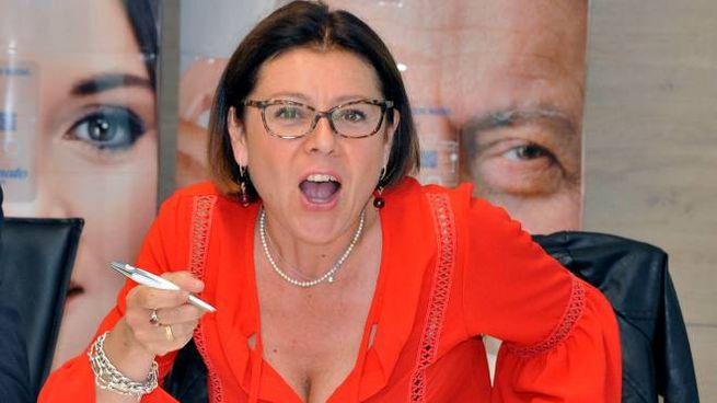 Paola De Micheli, commissario alla ricostruzione (foto Calavita)
