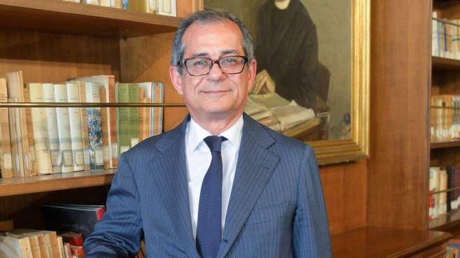 Giovanni Tria, Economia (foto Imagoeconomica)