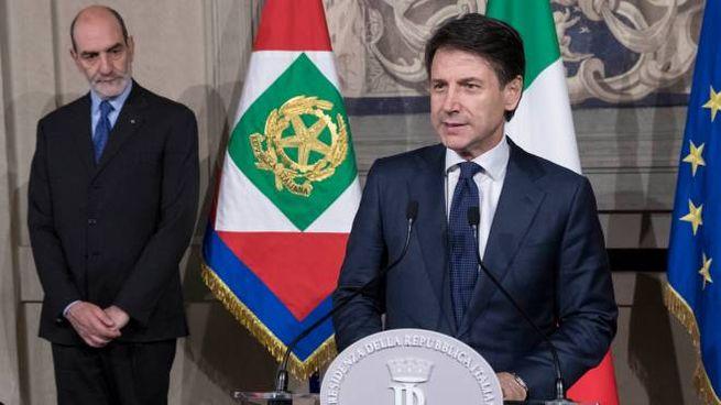 Il nuovo premier Giuseppe Conte (Lapresse)