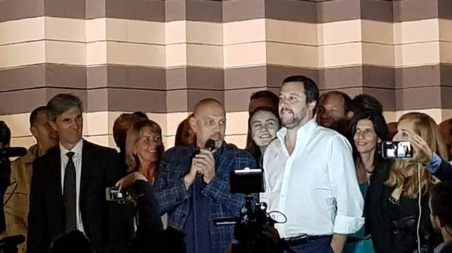 Matteo Salvini a Sondrio