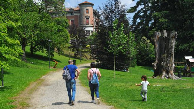 Il parco di Villa Toeplitz