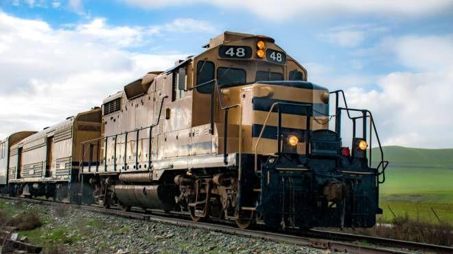 L'Hop Train offre birra ai passeggeri - Foto: Napa Valley Wine Train