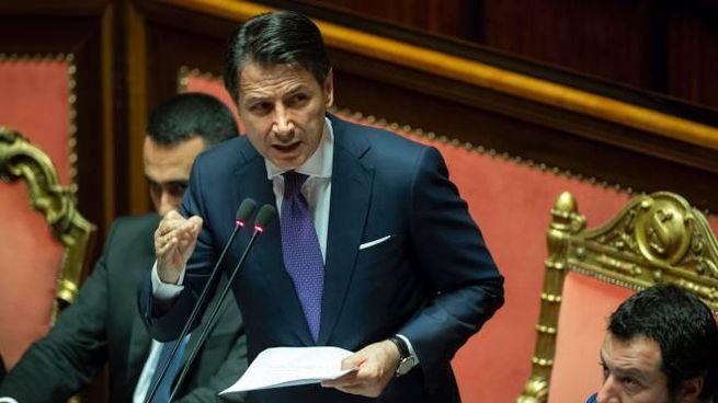 Giuseppe Conte (Newpress)
