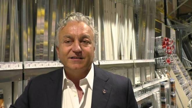 Massimo Pulcinelli, amministratore della Bricofer S.p.a.