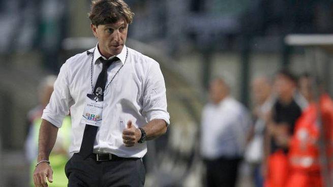 Il tecnico del Siena, Mignani (Di Pietro)