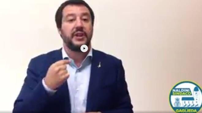 Il video di Salvini per sostenere Naldini