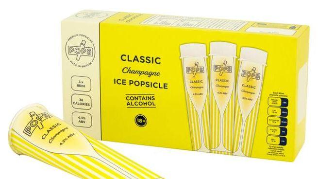 I ghiaccioli Pops sono fatti con spumante e cocktail- Foto: wearepops.com