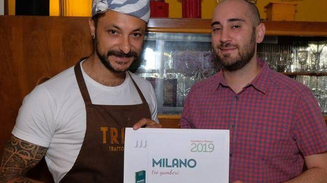 I titolari del ristorante Trippa