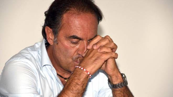L'ormai ex presidente del Forlì , Stefano Fabbri