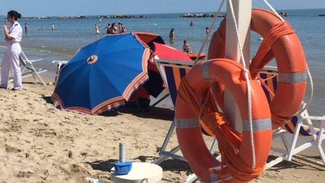 Tragedia in spiaggia